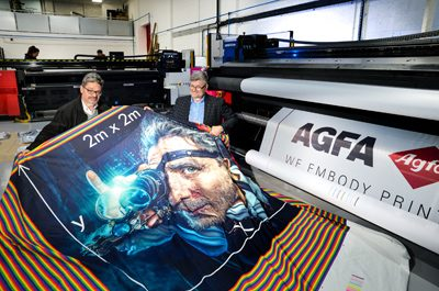 Northern Flags fly with Agfa Graphics