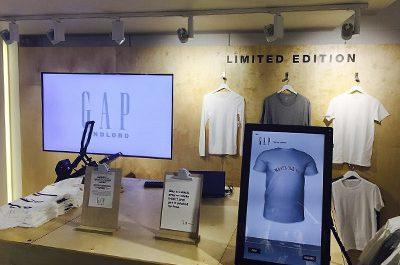 GAP creates customised clothing with Epson