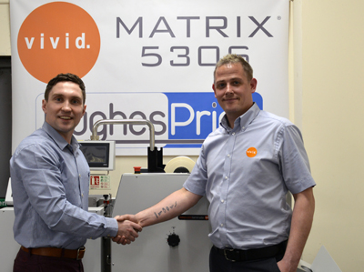 Hughes invests in Vivid lamination and foiling system