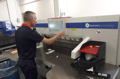 J & A International installs second 115 guillotine this year