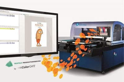 Kornit Digital and Colorgate team up for tailored workflow