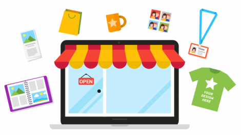 Customer's Canvas helps set up Shopify W2P storefronts