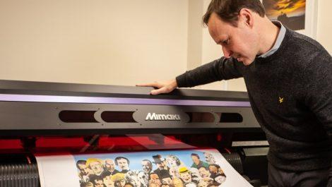 Mimaki machine to produce personalised jukeboxes