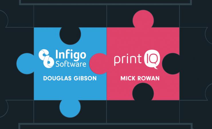Infigo Software enhances partnership with printIQ