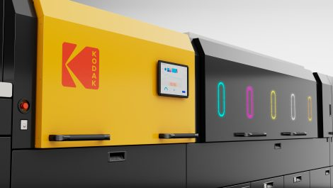 Kodak launches PoP/packaging press and expands Prinergy access