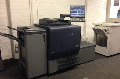 Second Bizhub Pro C6000L installed at Baker Goodchild