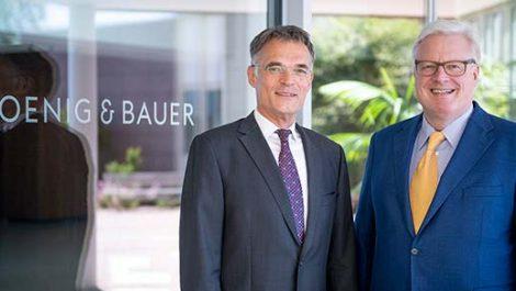 Pleßke to replace Bolza-Schünemann as Koenig & Bauer board spokesman