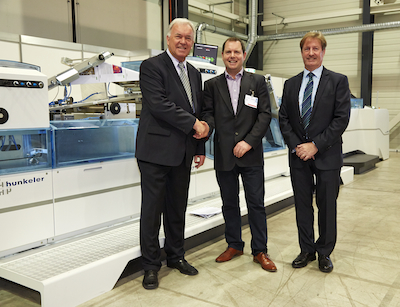 Hunkeler Book Block line bought by Print on Demand