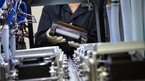Kodak inkjet head prints for 34,000 hours