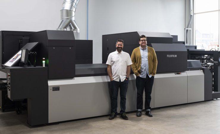 Fujifilm J Press 750S improves ROI in California