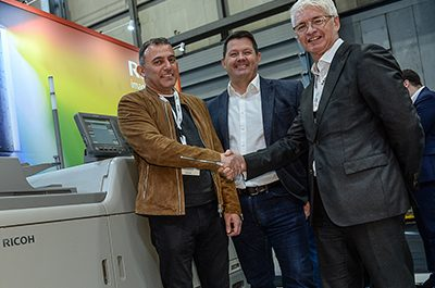 Direct CDs takes Ricoh five-colour press to meet digital demand