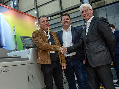 Direct CDs takes Ricoh five-colour press to meet digital demand