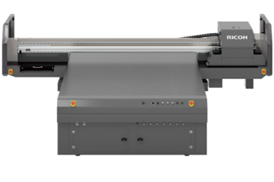 Ricoh weighs in to industrial décor flatbed market
