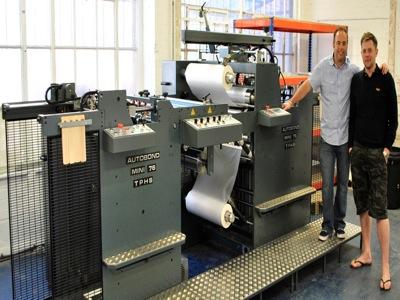 Solopress invests in Autobond laminating machine