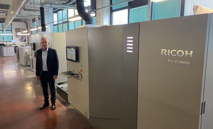 Slovenia Post adds second Ricoh Pro VC40000